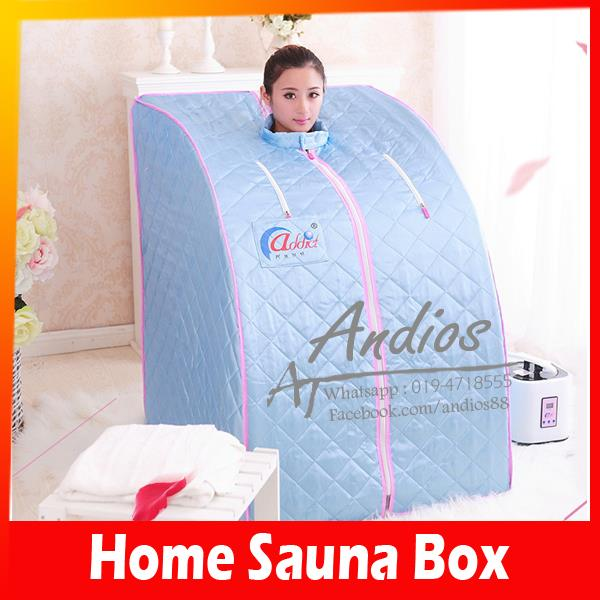 Sauna Box-Home Slimming Beauty Steam Total Slim Core Portable Body Car