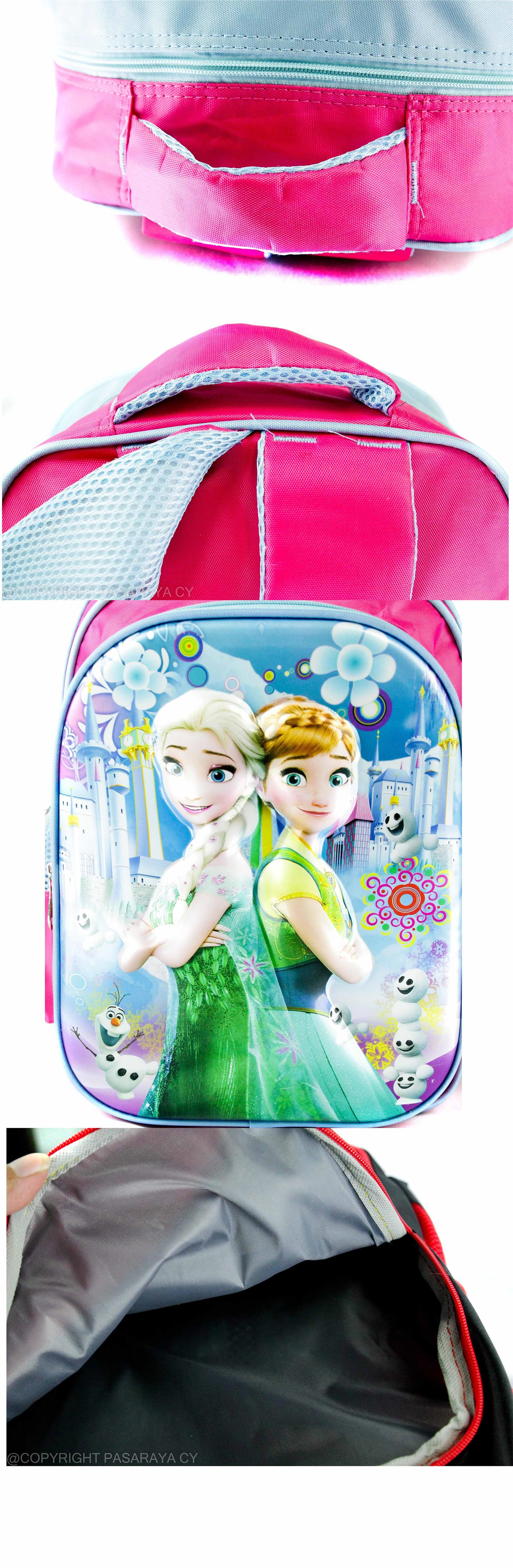 SCHOOL,BAG,SEKOLAH,3D,PRINT,DISNEY,PRINCESS,FROZEN,ANNA,ELSA