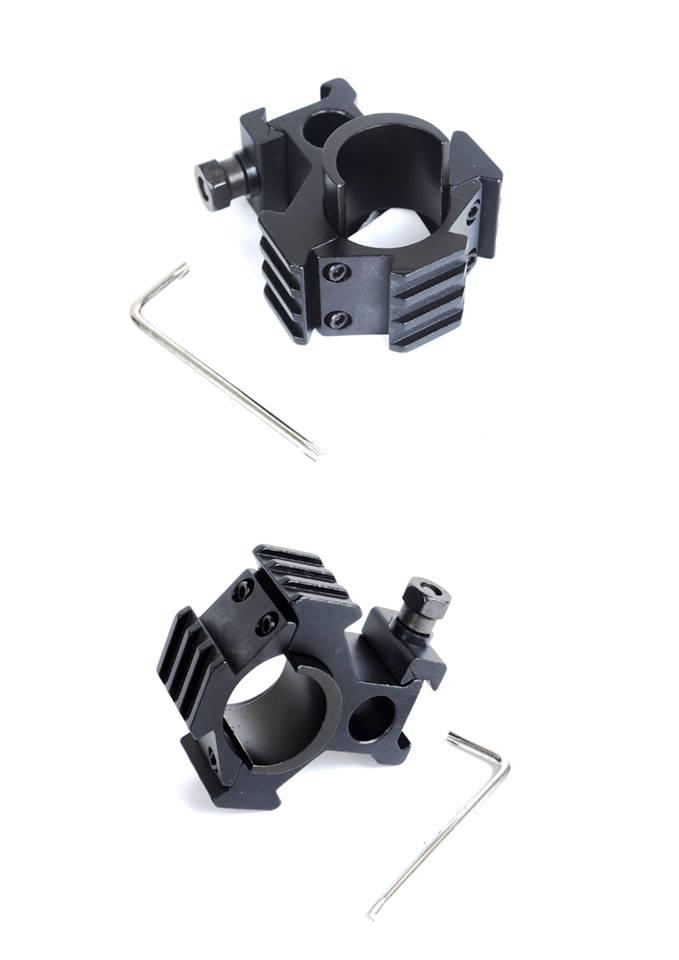SCOPE MOUNTING 25.4MM - 30MM FOR 20MM RAIL 1PCS