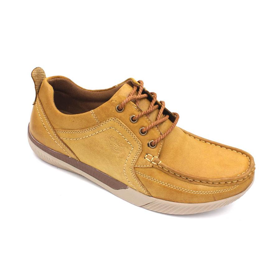 SCORPION Leather Casual Lace Up SC231 Camel