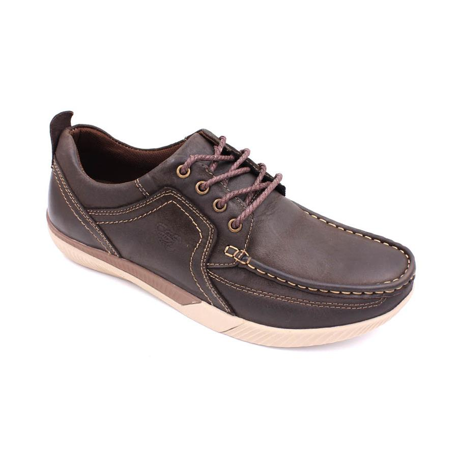 SCORPION Leather Casual Lace Up SC231 Coffee