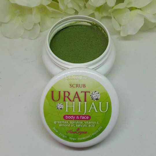 Image result for SCRUB URAT HIJAU
