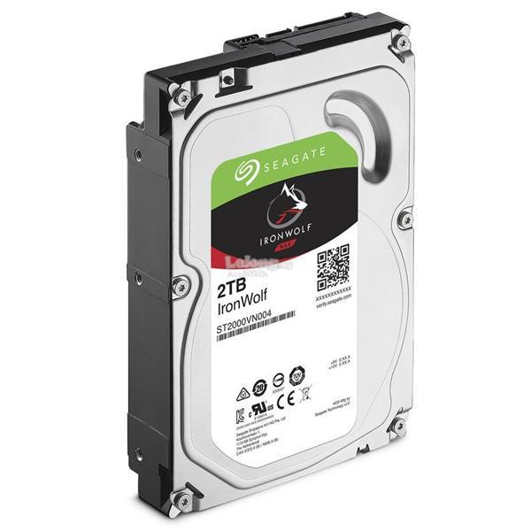 "SEAGATE 3.5"" IRONWOLF 2TB SATA 6GB/S 5900RPM (ST2000VN004)"