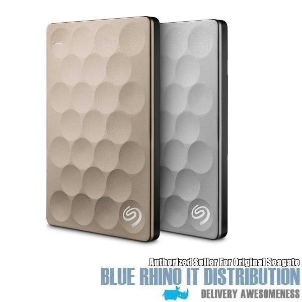 Seagate Backup Plus Ultra Slim 1TB Gold (STEH1000301) - Free Shipping