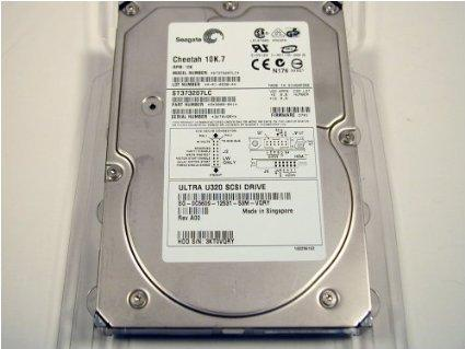 Seagate Cheetah 10K.7 73GB ST373207LC SCSI Hard Drive Used