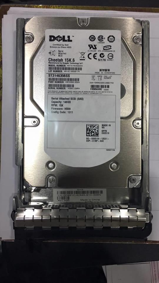 Seagate Cheetah 15K.6 ST3146356SS 146GB 15000 15k HDD Hard Disk Used