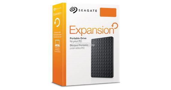 SEAGATE EXPANSION 500GB/1TB 2.5 PORTABLE HARD DRIVE