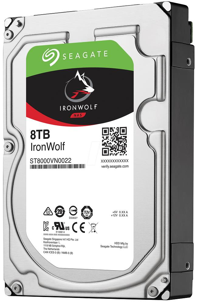 Seagate IronWolf 8 TB  ST8000VN0022 NAS HDD