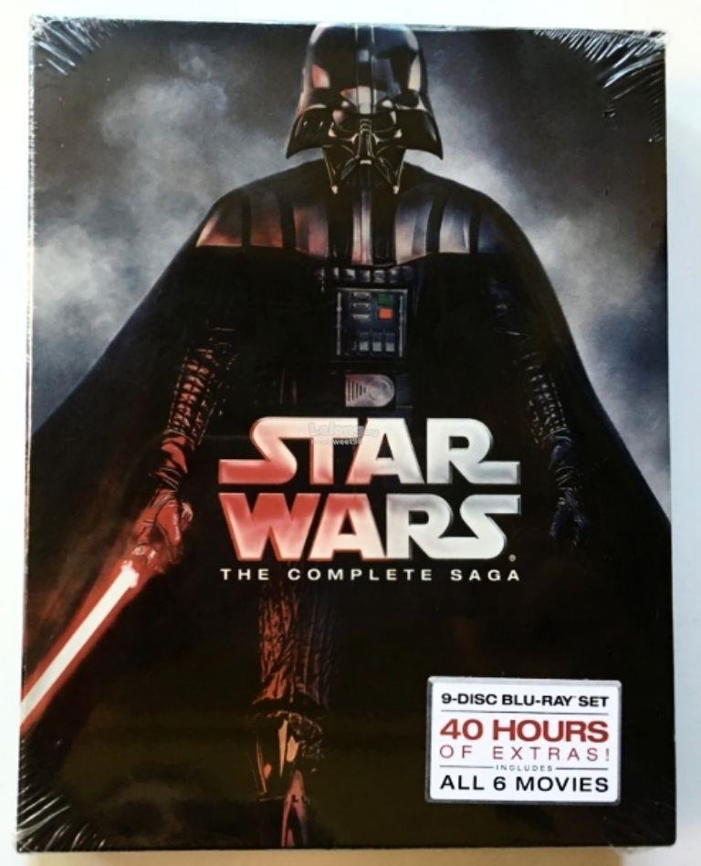NEW SEALED STAR WARS THE COMPLETE SAGA I II III IV V VI BLU RAY