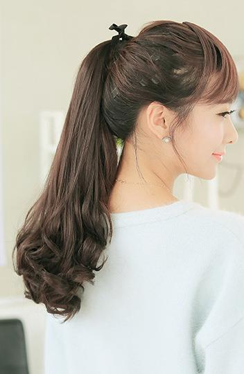 Seamless Curly Pony Tail Hair Extension Clip