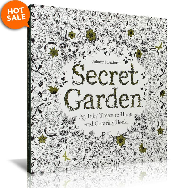 Secret Garden Colouring Book Malaysia By Coloring E End 9 19 2017 6