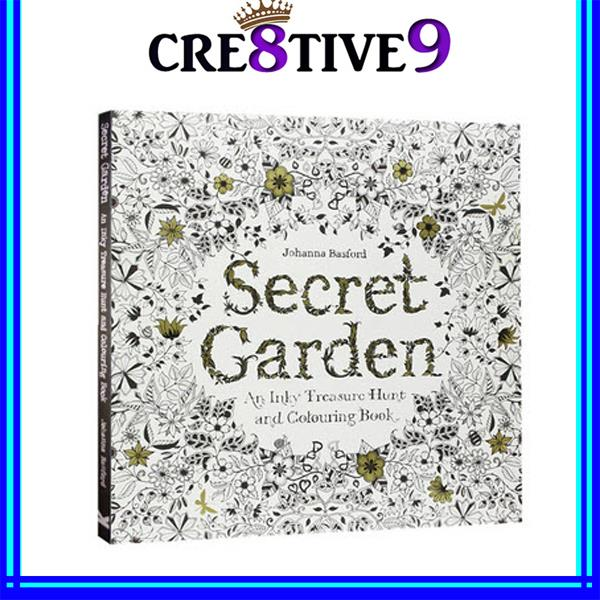 NEW Secret Garden Colouring Book 2 For RM110