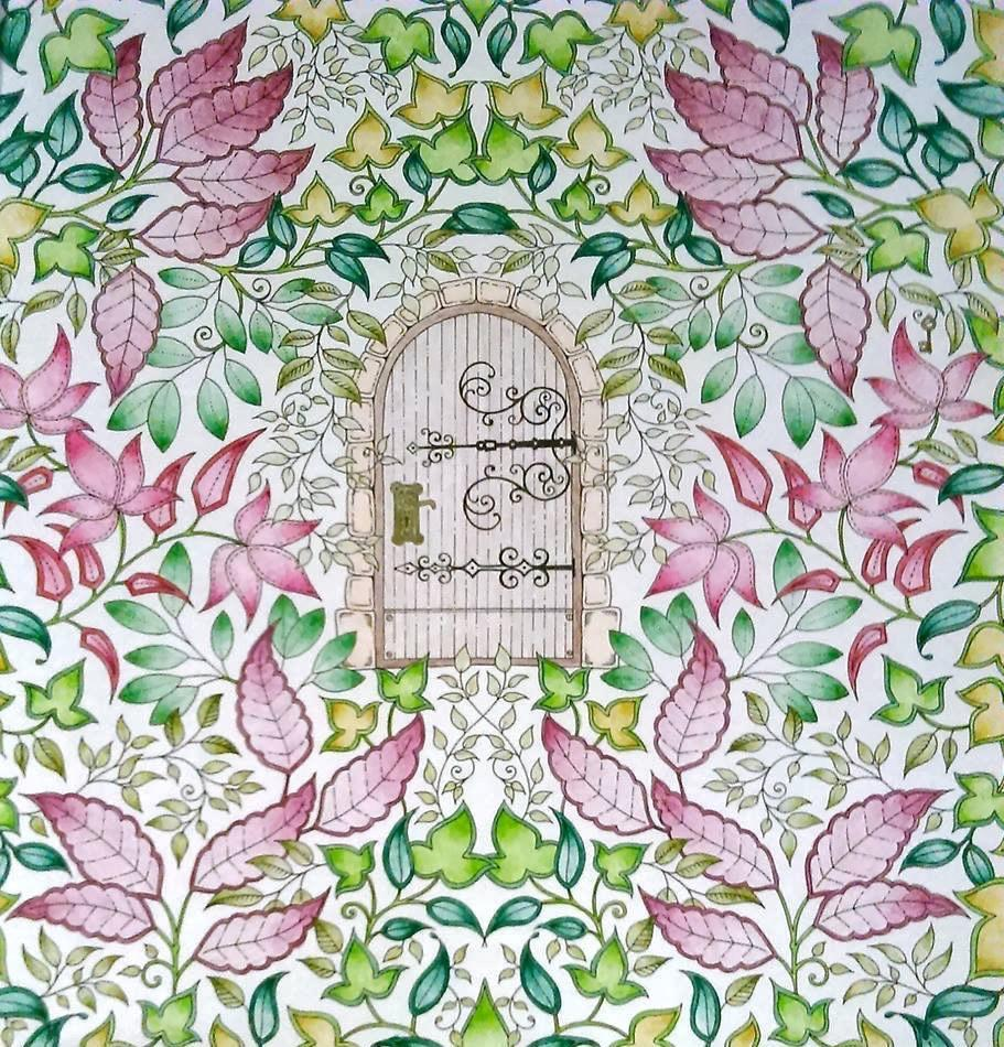 Secret Garden Colouring Book End 9 20 2017 407 PM