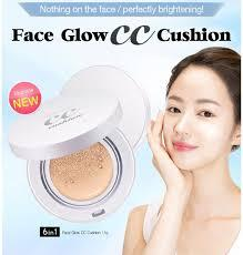 SecretKey Face Glow CC Cushion SPF50+PA+++