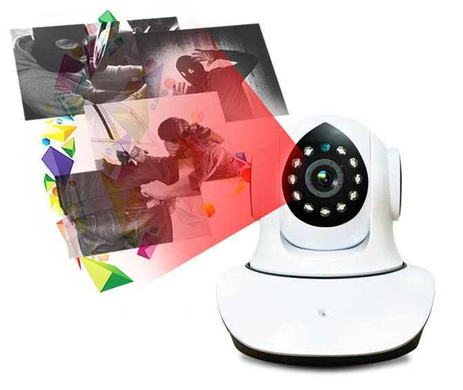 SecurEyes 1.0MP P2P Wireless IP Camera Support NVR With PTZ 1280*720P