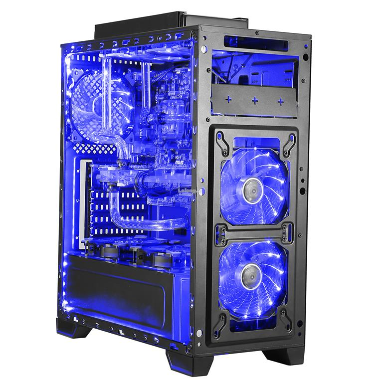 Segotep GANK II ATX Gaming Casing - (Black)