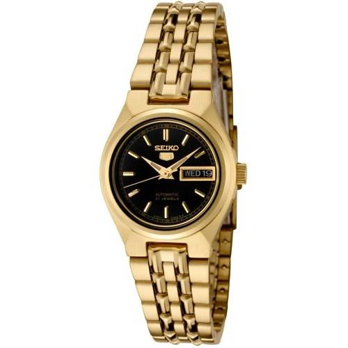 SEIKO 5 Automatic (Self Winding) Gold Tone Ladies Watch