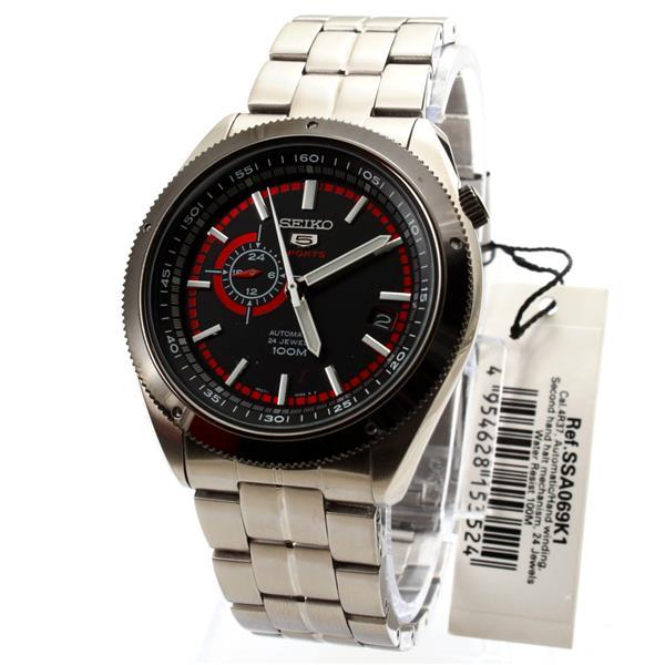 Seiko 5 Sports Automatic Mens Watch SSA069K1
