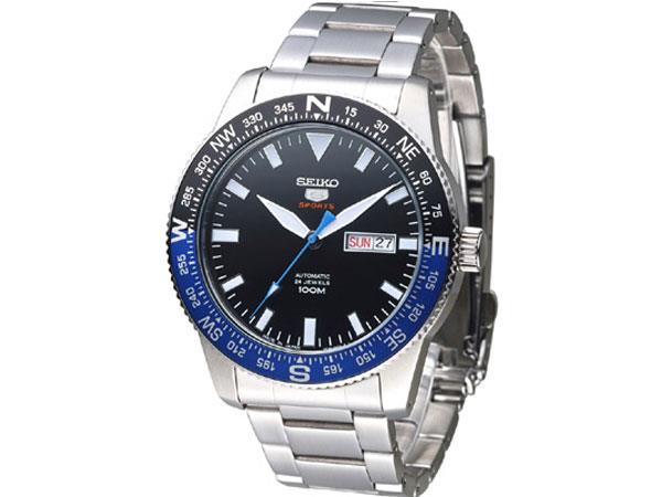 SEIKO 5 SRP659J1 SRP659 SRP659K AUTOMATIC BLACK DIAL MENS WATCH