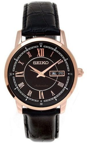 Seiko Automatic Leather Strap Men's Watch SRP262J1