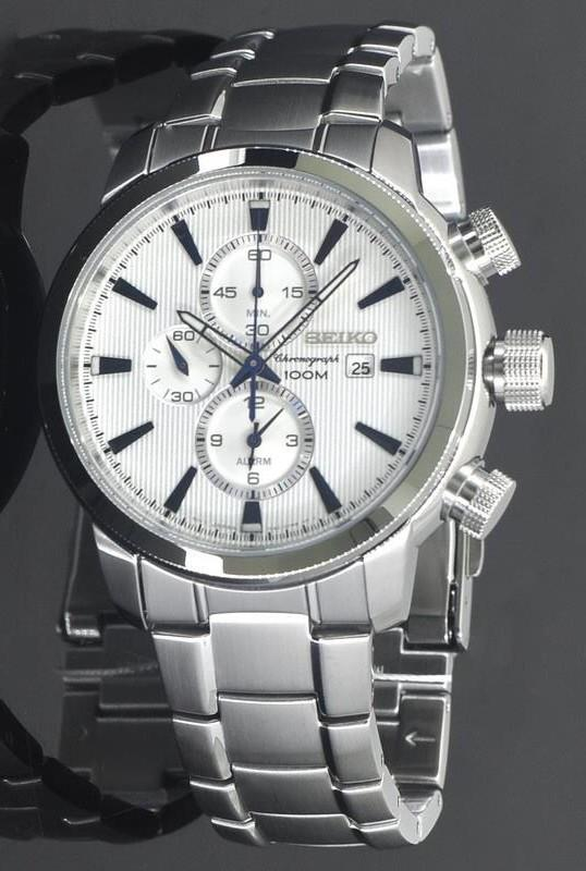 Seiko Chronograph Watch SNAF51P2 Men's Watch