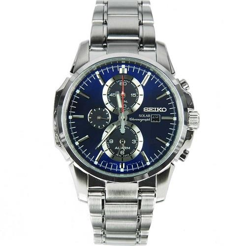SEIKO SOLAR CHRONOGRAPH MENS WATCH SSC085P1 SSC085