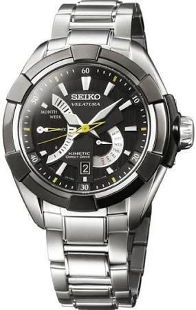 SEIKO SRH015P1 SRH015 VELATURA KINETIC MENS WATCH