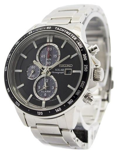 SEIKO SSC435P1 SSC435 SOLAR CHRONOGRAPH MENS WATCH