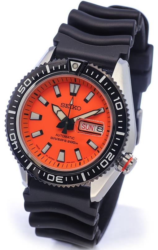 Dive watch with an orange dial suggestions - Orange dive watch ...
