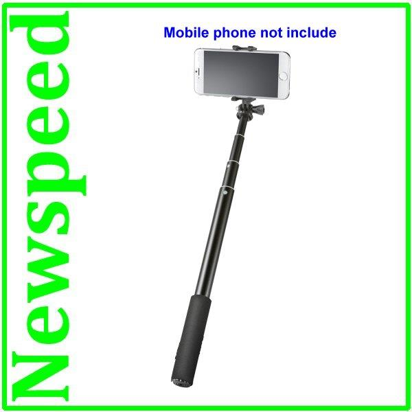 New Selfie Self Shooting Monopod + Smart Phone Handphone holder