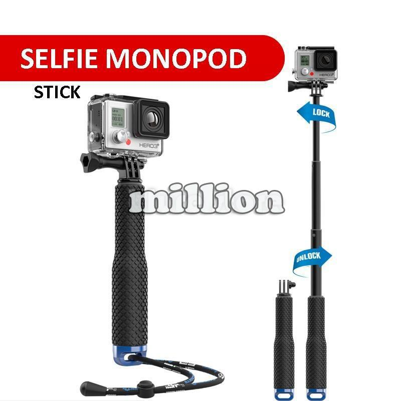 selfie stick monopod for sport action end 9 8 2016 2 15 pm. Black Bedroom Furniture Sets. Home Design Ideas