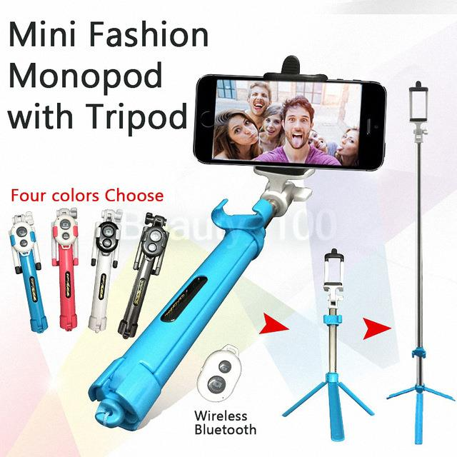Selfie Stick Tripod Bluetooth Remote Control for IPhone/Samsung