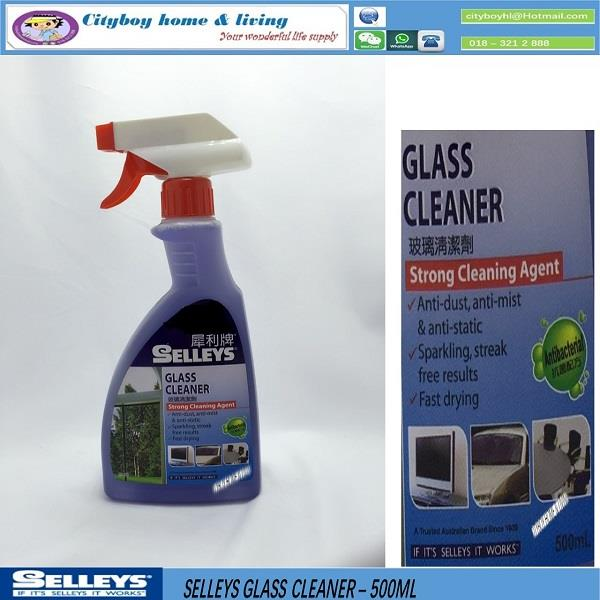 SELLEYS  GLASS CLEANER - 500ML