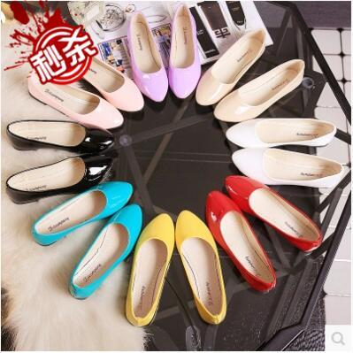 Best selling candy color casual flat sandal