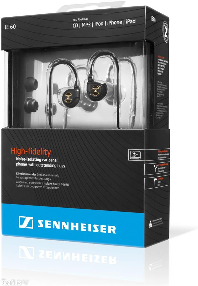 Sennheiser IE60 Noise Canceling Travel