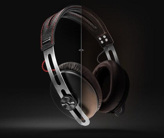 Sennheiser Momentum Over The Ear Headphone Brown