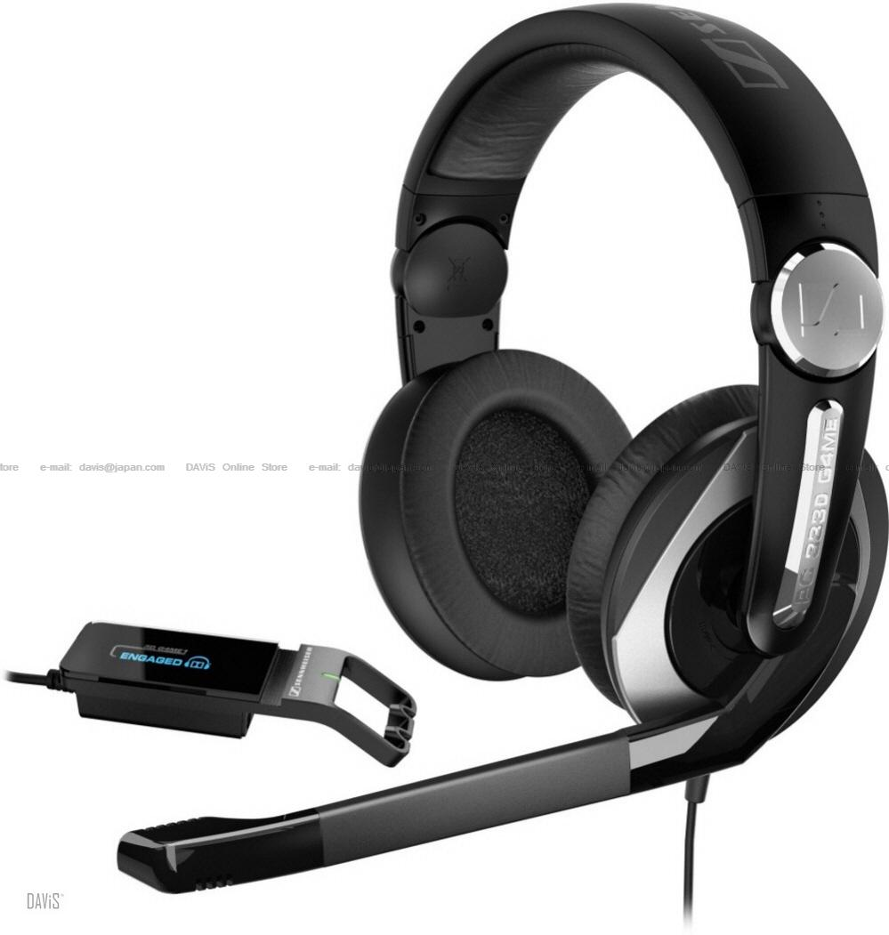 Sennheiser PC 333D G4ME . Headsets . Dolby 3D Gaming . Free S&H
