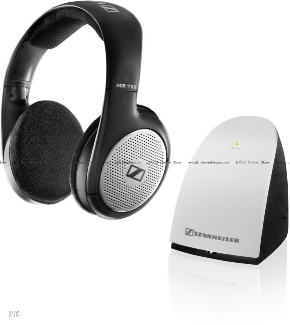 Sennheiser RS 110 II . Wireless Headphones . Strong Bass . Free S&H