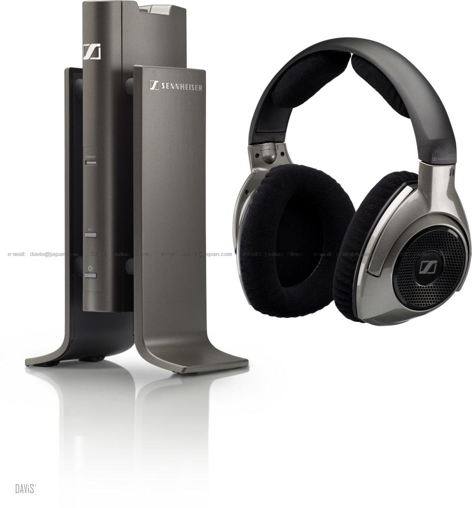 Sennheiser RS 180 Black . Wireless Headphones. Max 4 users . Free S&H