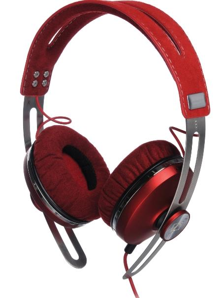 SENNHEISER WIRED MOMENTUM ON-EAR HEADSET (RED)