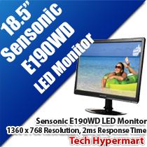 SENSONIC E190WD LED 18.5' MONITOR