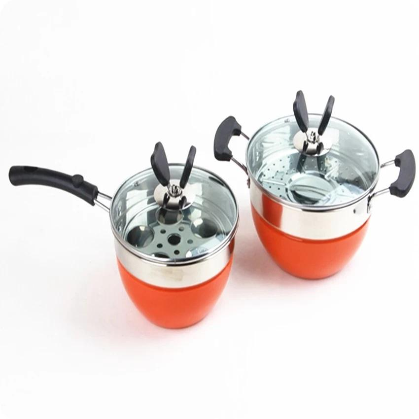 Set of 2 Multifunctional European Style Butterfly Cooking Pot