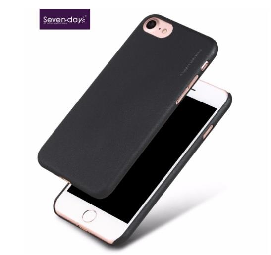 sevenday's Metallic iPhone 5 5S SE 6 6S 7 Plus + Back Case Cover