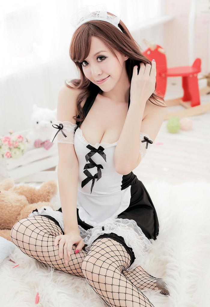 Sexy Free Size Maid Costume YW1074