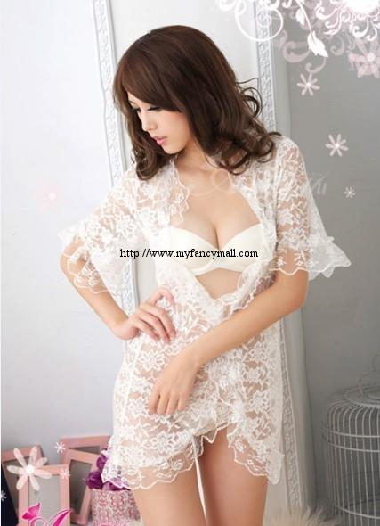 Sexy Lace Sleep Night Wear Sexy Wear Underwear Pyjamas Skirt 01409