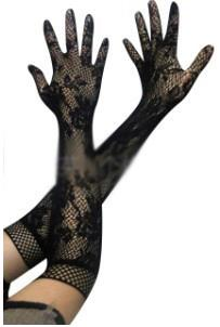 Sexy Net Type Gloves (Black)