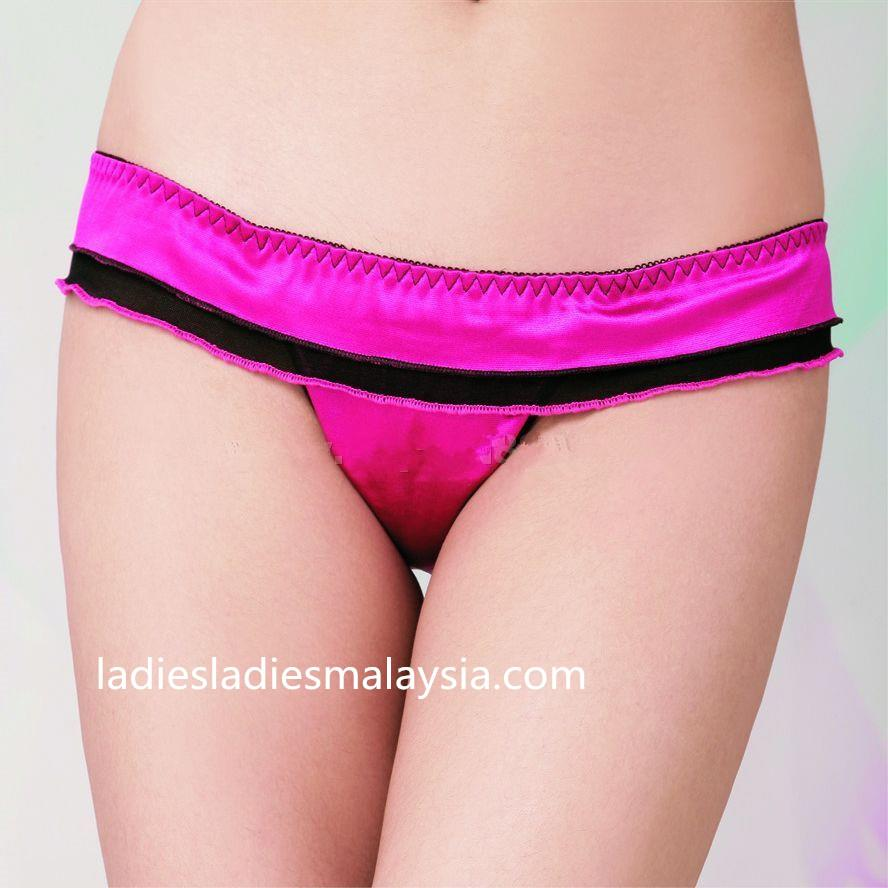 sexy panty g string lace silk ribbon