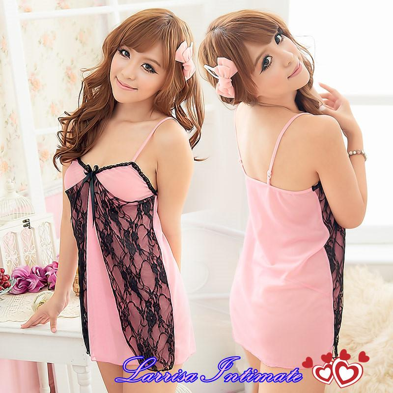Sexy Pinky Enticement Nightwear Lingerie L3020