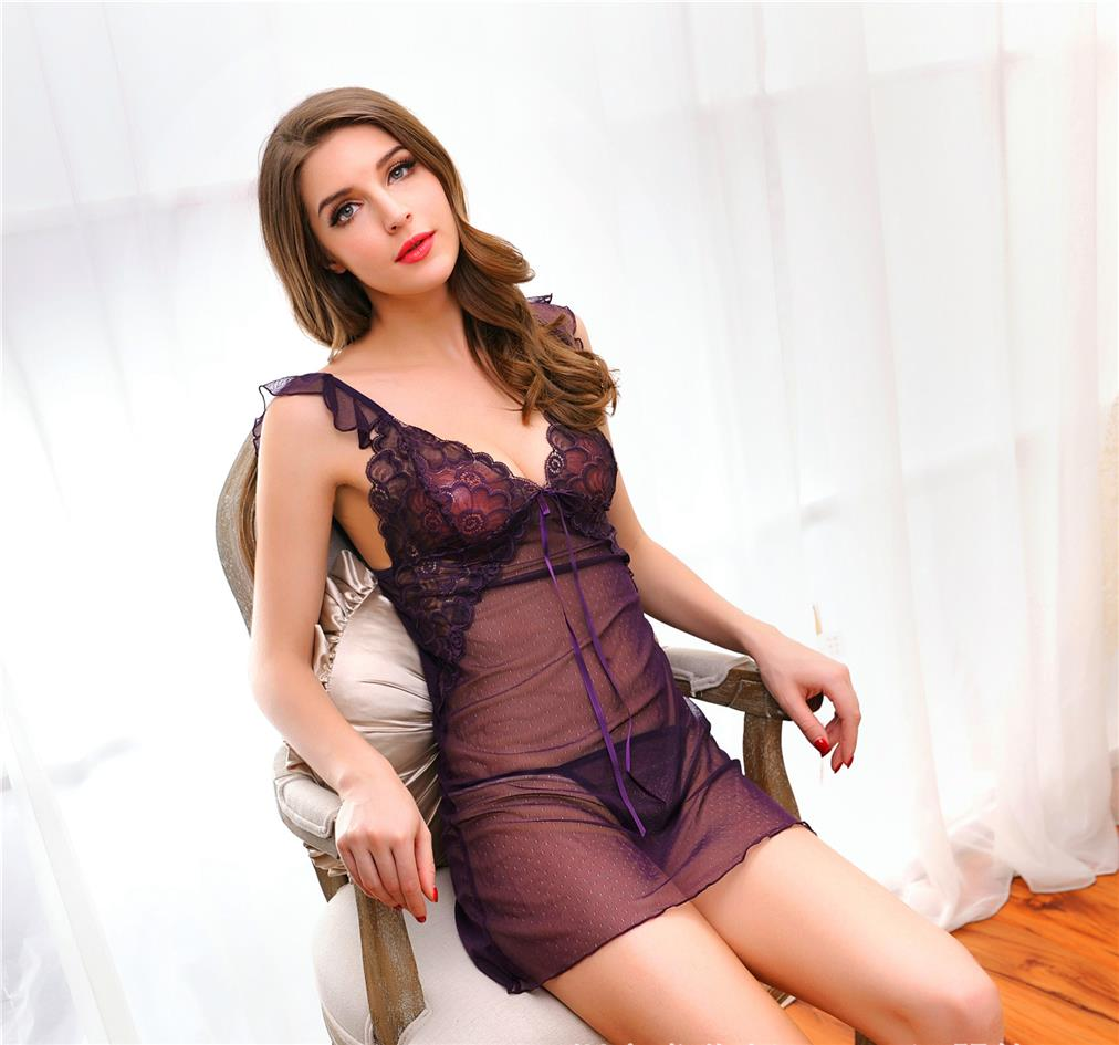Sexy Sheer Free Size Lingerie YW1066PP