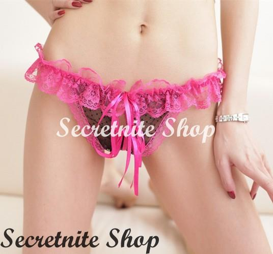 Sexy Woman G-string Crotchless WG-191-192-193-194